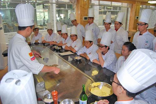 日韩料理教学实训