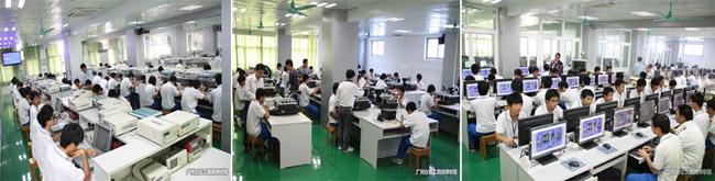 广州白云工商高级技工学校/技师学院学生学习场景