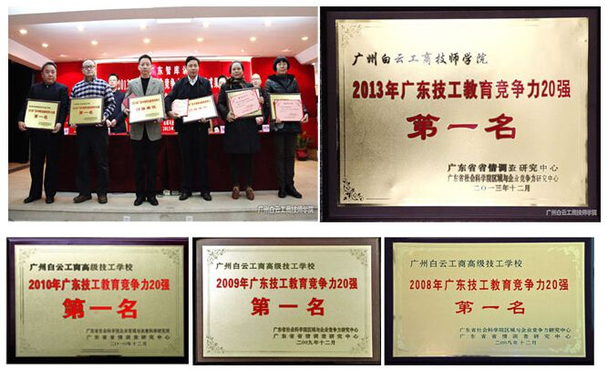 广东技工教育竞争力20强第一名