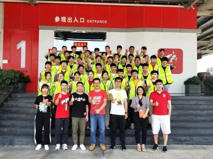 广州白云工商技师学院物流专业京东班