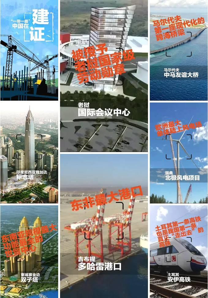 一带一路中国主持修建项目