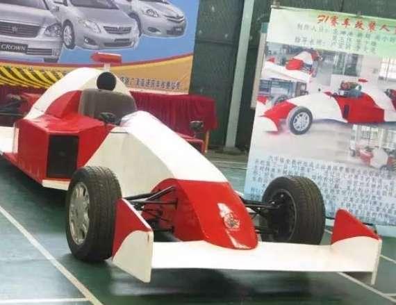学生自制F1赛车