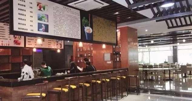 广州白云工商技师学院西餐厅