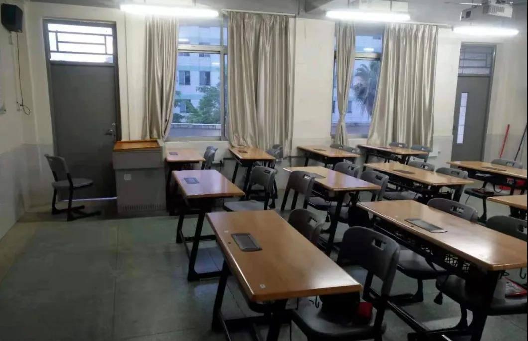 室内设计专业 学以致用——自己设计教室!这样的白云工商课室爱了!