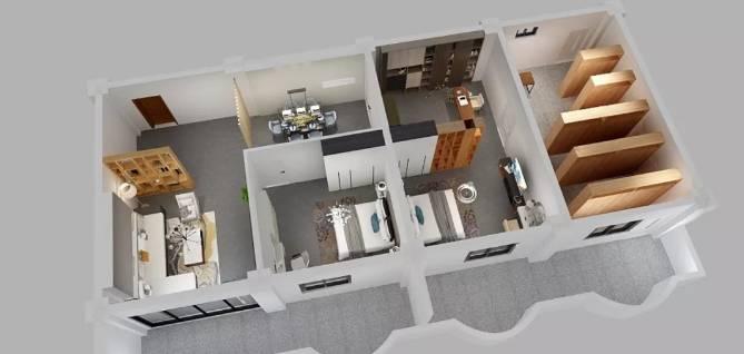 室内设计专业软装教室装饰 空间效果图