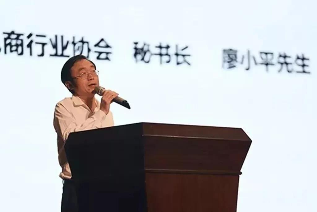 广州市跨境电商行业协会秘书长廖小平先生白云讲座