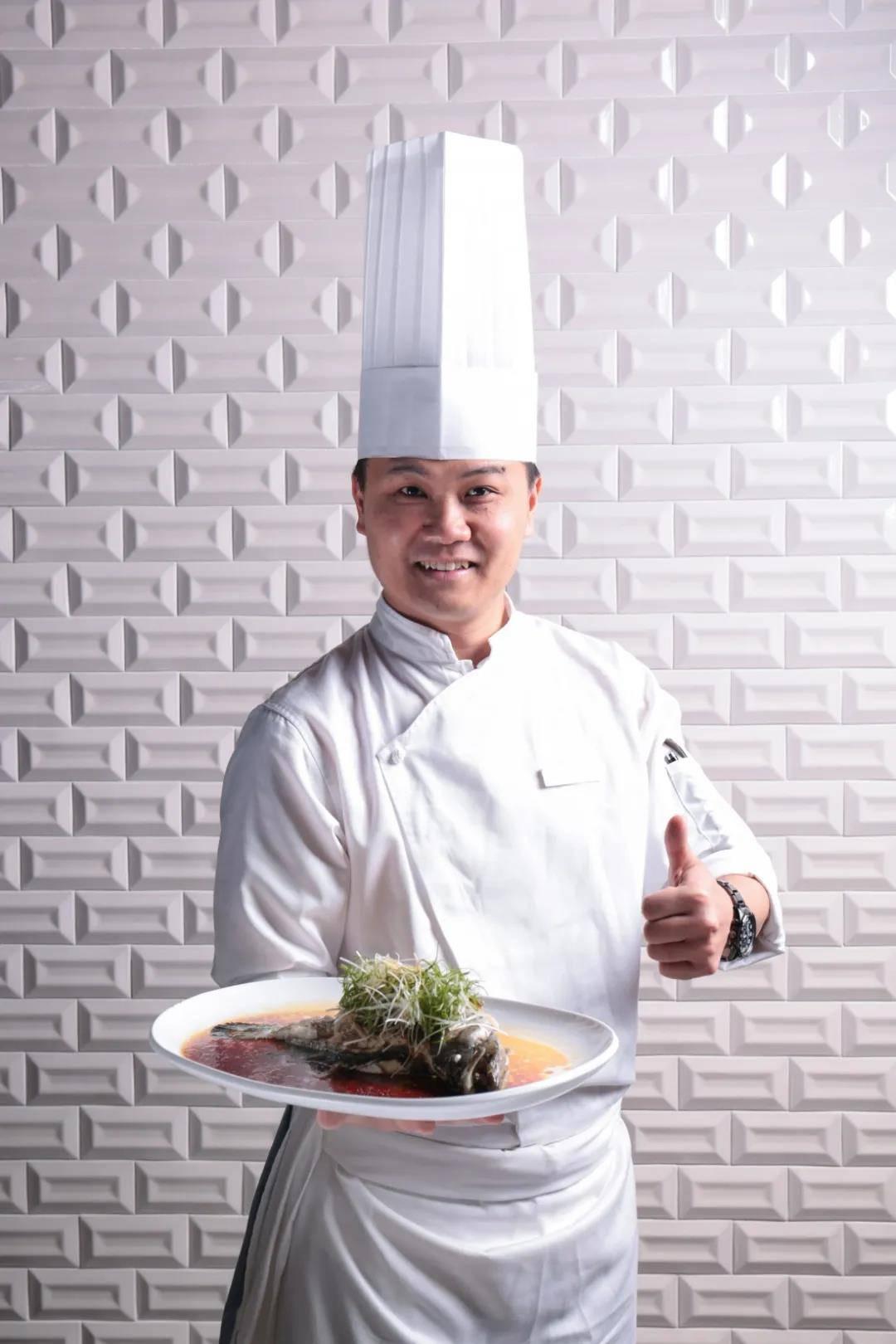 广州市白云工商技师学院烹饪专业优秀毕业生陈文强
