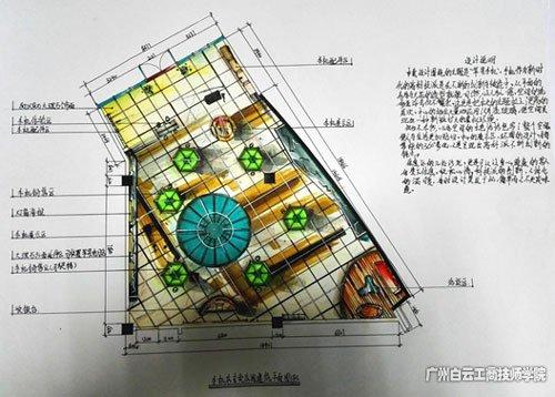 白云工商技师学院艺术设计与建筑系师生获广东省手绘设计技能大赛佳绩