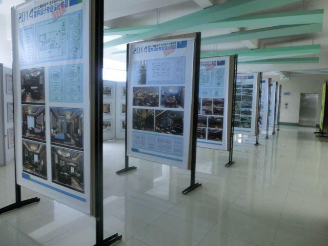 广州白云工商高级技工学校室内设计专业学生作品